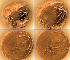 Huygens Lands on #Titan  Image Credit: ESA / NASA / JPL / University of Arizona