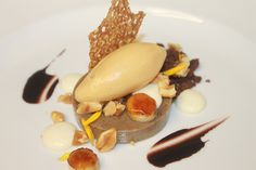 Espresso Custard, Condensed Milk, Brulee Banana, Chocolate Soil, Hazelnut Ice Cream, Salted Toasted Peanut, Crocante by Pastry Chef Antonio Bachour, via Flickr