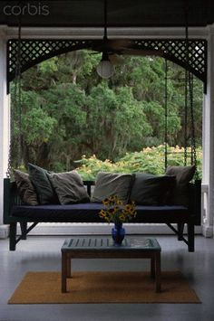 Stock Photography, Royalty-Free Photos & The Latest News Pictures Cumberland Island Georgia, Cottage Porch, Porch Swing, Outdoor Furniture, Outdoor Decor, Royalty Free Photos, Porches, Stock Photos, Swings