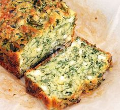 The Big Diabetes Lie Recipes-Diet - Cake saumon courgette (IG bas) - Doctors at the International Council for Truth in Medicine are revealing the truth about diabetes that has been suppressed for over 21 years. Vegetarian Recipes, Cooking Recipes, Healthy Recipes, Spinach Cake, Cake Courgette, Spinach Bread, Diet Cake, Good Food, Pastries