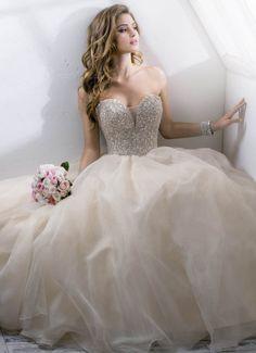 ballgown Sottero and Midgley Wedding Dress