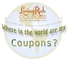 Reader Favorite: Where in the World are my Coupons? - http://www.livingrichwithcoupons.com/2013/10/reader-favorite-where-in-the-world-are-my-coupons-33.html