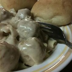 Easy Swedish Meatball Sauce   skipped rosemary, added Worcestershire & garlic salt and doubled ingredients for more sauce.