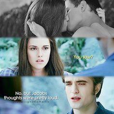 Eclipse ~ Edward, Bella and Jacob