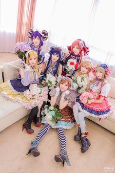 Beautiful Love Live cosplay