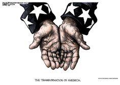 Michael Ramirez Cartoon 11/08/2012 - Government Handouts