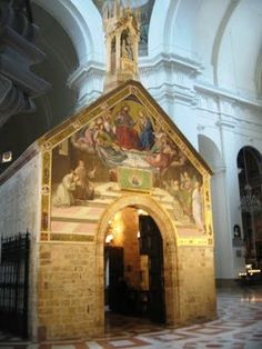 St. Francis' Portiuncula in St. Mary of the Angels Church in Assisi, Italy