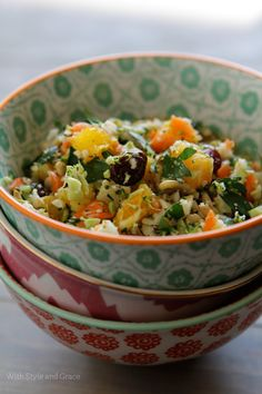 Shredded Detox Veggie Salad, from With Style & Grace