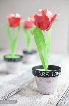 DIY Paper Tulip