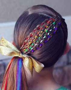 17 Trendy Kids Hairstyles You Have to Try-Out on Your Kids Crazy Hair Styles for Girls, Winter Hairstyles, Cute Hairstyles, Braided Hairstyles, Hairstyles For Girls, Kids School Hairstyles, Children Hairstyles, Easy Little Girl Hairstyles, Halloween Hairstyles, Toddler Hairstyles