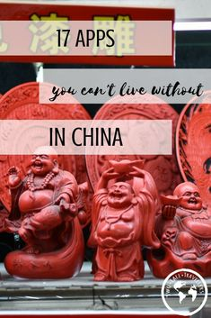 The internet can be a life saver when you're abroad, especially when you move to another country. It may be restricted, but there are also many apps that can make your travel life easier when in China!