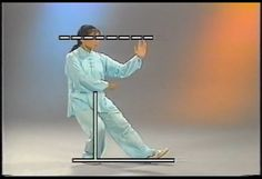 Tai Chi, Fist Under Elbow Diagram,   You Tube Video Still
