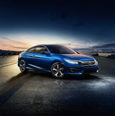 The dramatically redesigned 2016 Honda Civic Coupe has arrived!