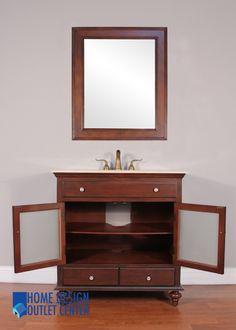 Size  36  W x 22  D x 37  H Mirror size Size  24 W x 22 D x 36 H Mirror Size  24 W x 32 H  Constructed of  . Mirror Size For 36 Vanity. Home Design Ideas