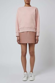 Leather Mini Skirt by Boutique - Topshop