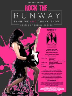 Join Sheryl Cooper for a special day of rock, fashion and fun just for the ladies! Reserve your seat at the 2nd annual Rock The Runway Fashion And Trunk Show before seating sells out!  RSVP by Monday, April 21st to joy@alicecoopersolidrock.com with your credit card payment to secure your reservation.