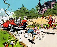 Spirou et Fantasio courent direction les vacances ?   Retrouvez notre 3ème vague de promo, à 1,99€ :  Spirou et Fantasio,  Michel Vaillant, De beaux moments, Pablo, Antarès et plus de BD à lire au parc ou à la plage :)