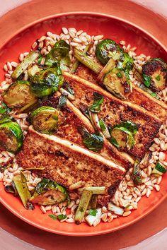 Asian Tofu Recipes, Raw Vegan Recipes, Dairy Free Recipes, Yummy Recipes, Vegetarian Recipes, Healthy Recipes, Crispy Tofu, Baked Tofu, Can Of Soup