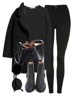 """Untitled #7099"" by laurenmboot ❤ liked on Polyvore featuring Topshop, T By Alexander Wang, Mansur Gavriel and Acne Studios"