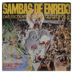 #Carnaval #1987 – #Sambas de #enredo  - #vinil #vinilrecords #temas