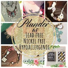 Lead and nickel free plunder design vintage jewelry. Order at plunderdesign.com\leann2015