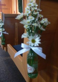 unique church wedding decorations