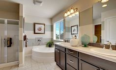 Beautiful master bath!