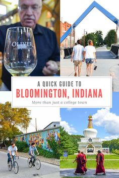 There's more to Bloomington than simply being a college town.  Whether its live…