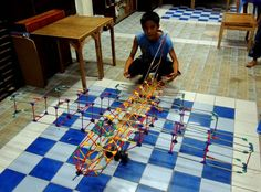Airplane (Double Winged) | Mel Sipulo's K'nex Creations