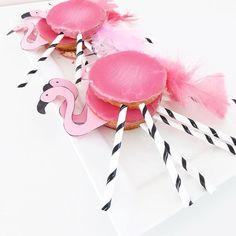 Ideas For Baby Girl Birthday Cake Baking Kids Birthday Treats, Baby Girl Birthday Cake, Birthday Diy, Flamingo Birthday, Flamingo Party, Diy Birthday Decorations, Party Decoration, Birthday Gifts For Boyfriend Diy, Tattoo For Baby Girl