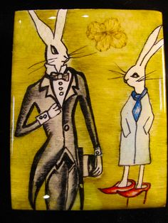 those fashionable bunnies