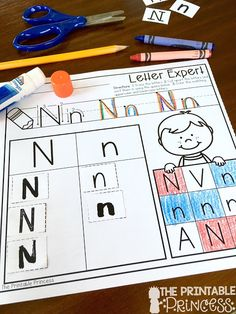 Students will be little letter experts after this activity. Students write the letter, sort the letter and then color the letter. SO much learning on one piece of paper!
