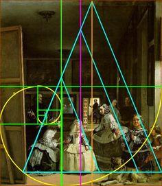Las Meninas de Velázquez y la proporción áurea