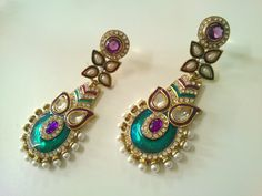 Gorgeous traditional earrings