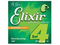 Encordoamento para Contrabaixo - Elixir 14087 0.45