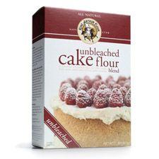 King Arthur unbleached cake flour blend