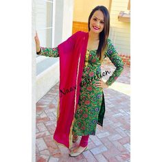 Naav Collection churidaar suit❤️ (For Inquires please message us on FB or email us at NaavCollection@gmail.com