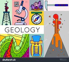Geology Coloring Book-- Flatirons, Boulder, Colorado | Art+Design+ ...