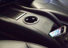 Custom CCI (Black) Aftermarket Tesla Model S Center Console Insert | Aftermarket Accessories for Tesla Model S