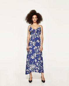 ZARA - WOMAN - LONG PRINTED DRESS