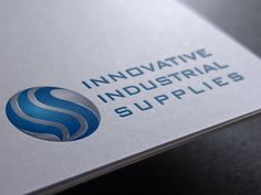 Logo IIS (Innovative Industrial Supplies) by Redouane