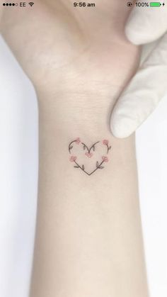 tattoos for daughters ~ tattoos for women . tattoos for women small . tattoos for moms with kids . tattoos for guys . tattoos for women meaningful . tattoos with meaning . tattoos for daughters . tattoos on black women Small Girly Tattoos, Small Heart Tattoos, Little Tattoos, Mini Tattoos, Girl Spine Tattoos, Spine Tattoos For Women, Wrist Tattoos, Body Art Tattoos, Tattoo Spine