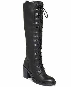 Nine West Lory Tall Lace-Up Combat Boots - ordered these, too!