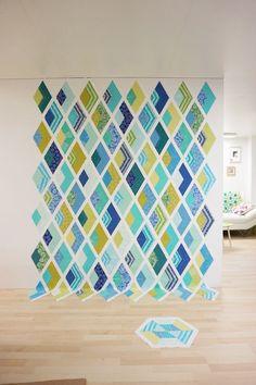 SCHNIG SCHNAG - Quilts and more: Es wird ein Quilt {Entstehung}