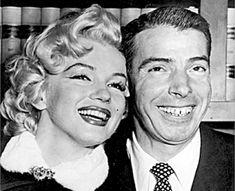 She married Joe DiMaggio ...