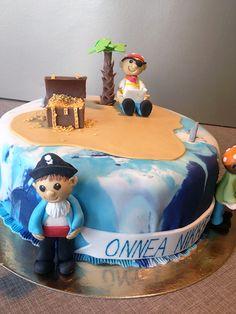 Pirate cake/Ancka bakar kakor: Merirosvokakkua Niklakselle