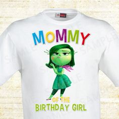 Inside Out Mom of the Birthday Girl. Inside by mypartypapergoods