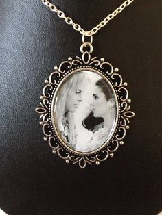 Labyrinth Sarah & Jareth cameo necklace on Etsy, £4.50