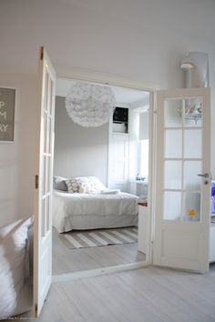 White double doors with windows ♥