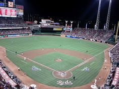 Great American Ball Park ♥ nothing like a cold beer and a hotdog!